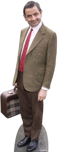 Official Mr Bean Lifesize Cardboard Cutout - 1.80m
