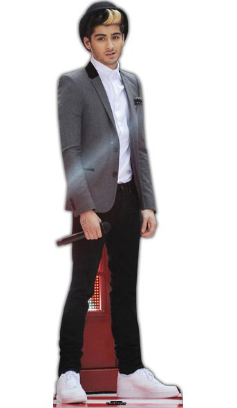 Zayn One Direction Lifesize Cardboard Cutout - 1.65m