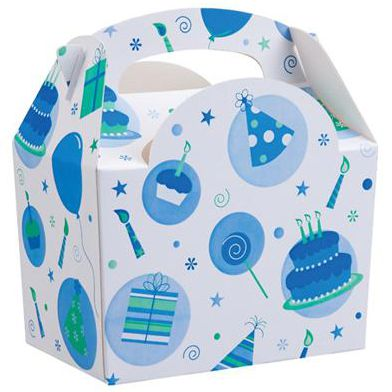 Blue Celebration Party Box - Each