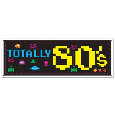 Click to view product details and reviews for 80s Sign Banner 152m.