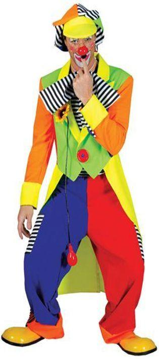 Clown Tailcoat And Trousers