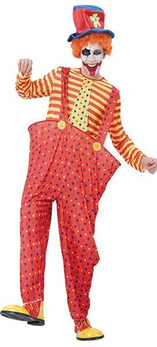 Click to view product details and reviews for Hooped Clown Costume.