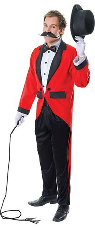 Ringmaster Costume, Red
