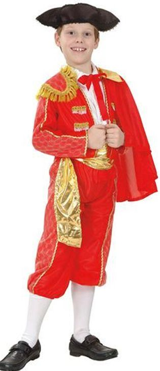 Click to view product details and reviews for Childs Matador Costume.