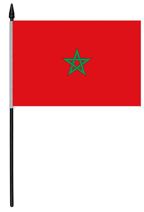 "Morocco Cloth Table Flag - 4"" x 6"""