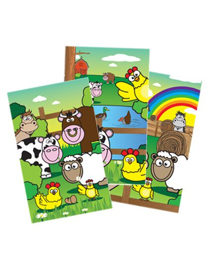 Mini Farm Notepad - Each
