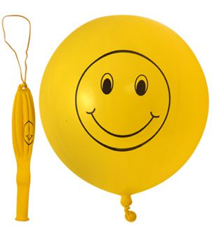 Smiley Face Punchball Balloons - Each