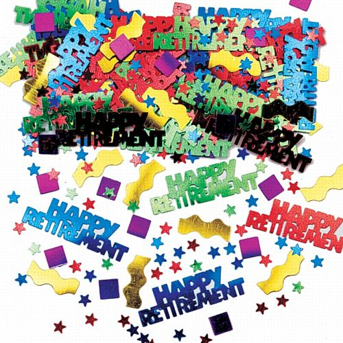 Rocking Retirement Multi Metallic Mix Confetti - 14g