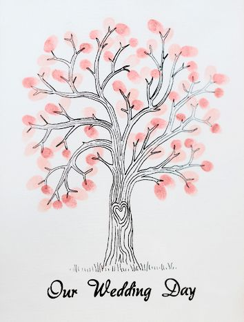 Click to view product details and reviews for Vintage Affair Finger Print Tree 42cm.