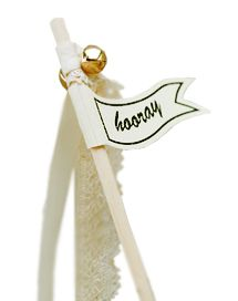 Vintage Affair Wedding Wands - 30cm - Pack of 10