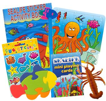 Sealife Party Toys Assorted - Pack of 100