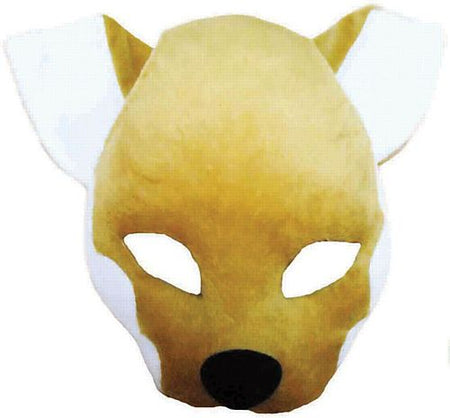 Fox Mask On Headband With Sound
