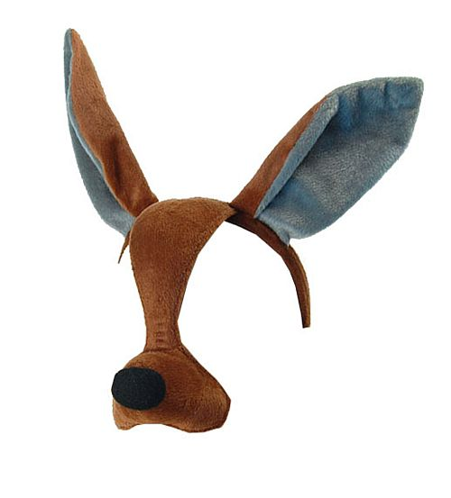 Kangaroo Mask On Headband With Sound