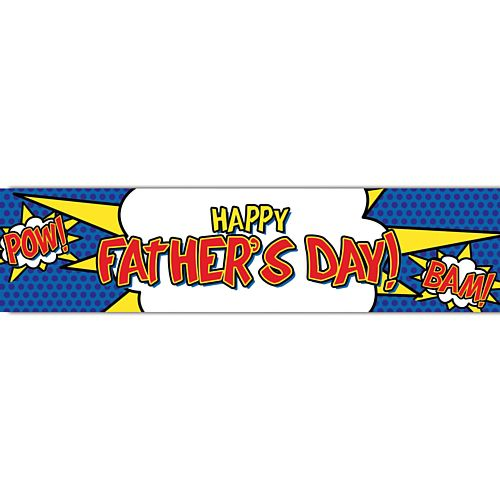 Super Dad Themed Banner - 1.2m