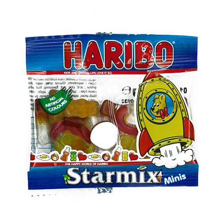 Haribo Starmix Gummy Sweets - 16g Mini Bag - Each