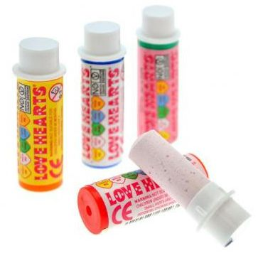Love Hearts Candy Lipstick - Each