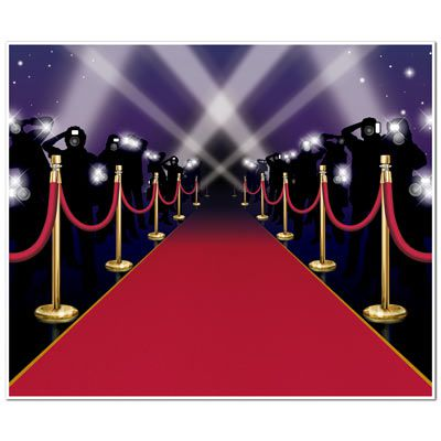 Red Carpet Insta-Mural - 1.83m