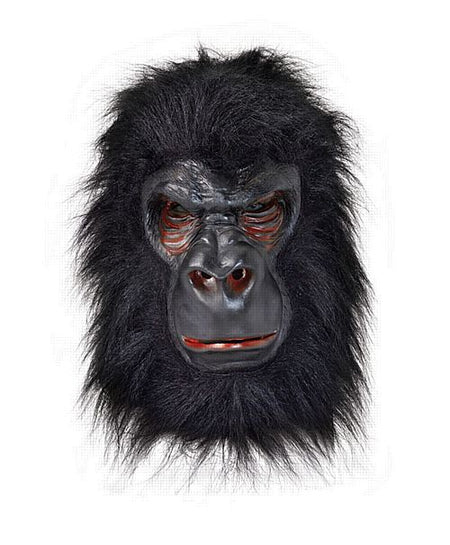 Click to view product details and reviews for Gorilla Mask Black Hair.
