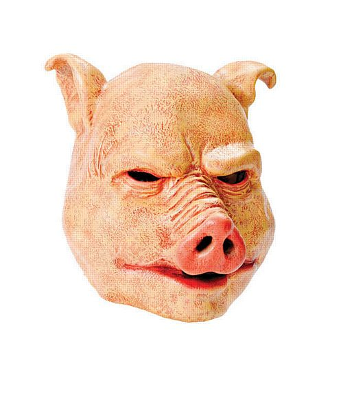 Latex Horror Pig Mask