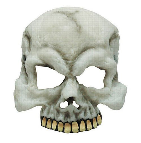 Rubber Skull Half Face Mask