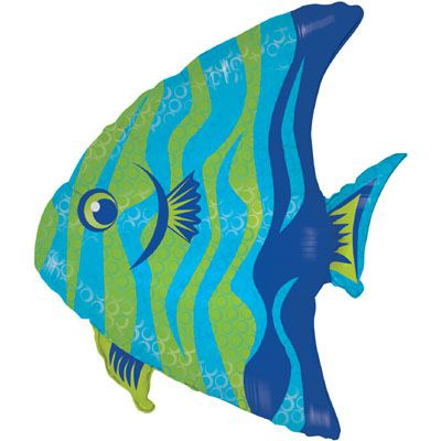 Angel Fish Supershape Foil Balloon - 28""