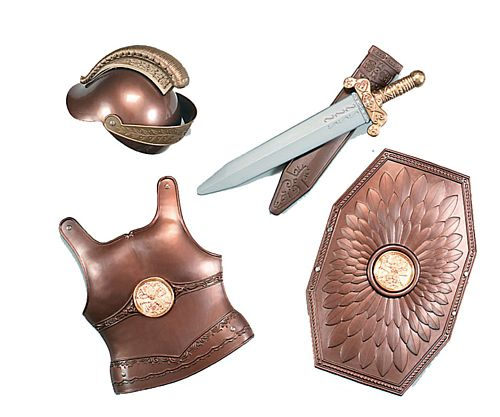 Childs Roman Armour and Weapon Set