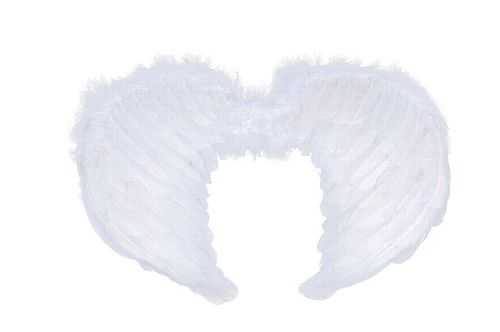 Mini White Feather Wings