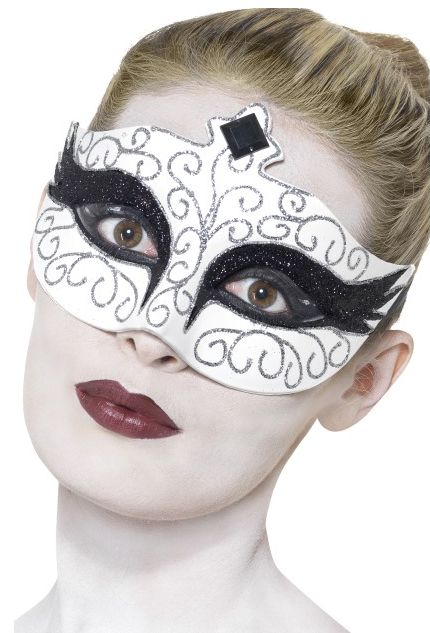 Click to view product details and reviews for Gothic Swan Eyemask.