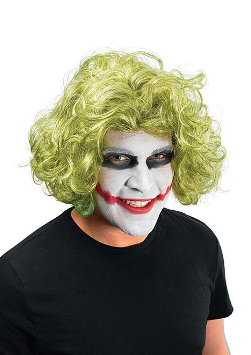 Mad Man Joker Wig