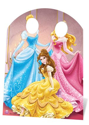 Disney Princess Photo Stand-In - 1.27m
