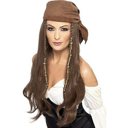 Pirate Wig, Brown