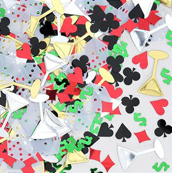 Click to view product details and reviews for Casino Night Confetti Multi Colour 1 2oz.