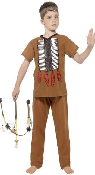 Boy's Native American Warrior Costume
