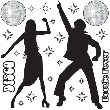 Disco Props Insta-Theme - 1.6m - Pack of 22