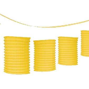 Yellow Lantern Garland - 3.65m
