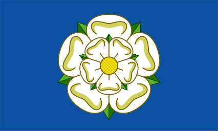 Yorkshire Polyester Fabric Flag 5ft x 3ft