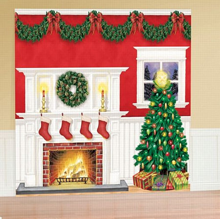 Christmas Scene Setter Decorating Kit - 3.65m - Pack of 6