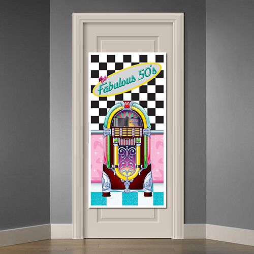 The Fabulous 50's Door Cover - 1.52m