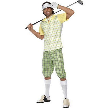 Mens Gone Golfing Costume - Large