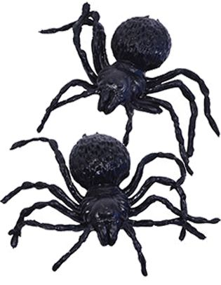 Joke Spiders - 3.8cm - Pack of 6