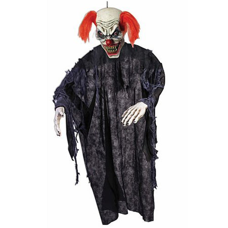 Evil Clown Hanging Decoration - 2.1m