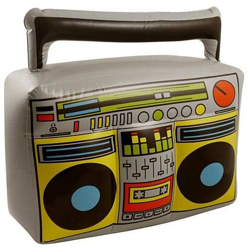 Inflatable Boom Box - 44cm