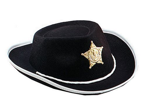 Childs Black Cowboy Hat