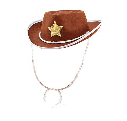 Childs Brown Cowboy Hat