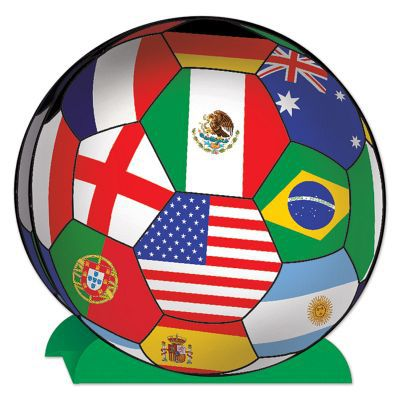 International Football Centrepiece - 25.4cm