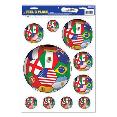 International Peel 'n Place - 43.2cm Sheet