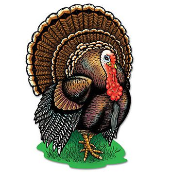 Turkey Cutout - 43.2cm