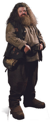 Click to view product details and reviews for Harry Potter Hagrid Lifesize Cardboard Cutout 195m.