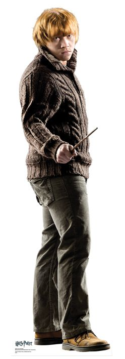 'Harry Potter' Ron Weasley Lifesize Cardboard Cutout - 1.75m