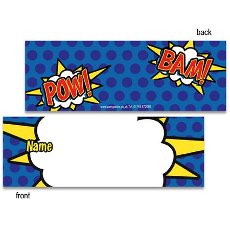 Heroic Placecards - Pack of 8